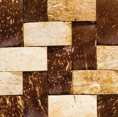 JH-K54 Customized Herringbone Coconut Mosaic