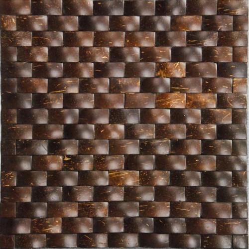 JH-K09-subway-smooth surface coconut mosaic