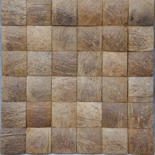 JH-K10 Coconut Wood Mosaic Panel
