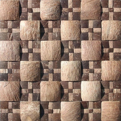 JH-KH04 multisize coconut mosaic tile