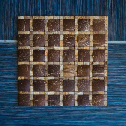 JHKH-13 Coconut Mosaic Tile Application