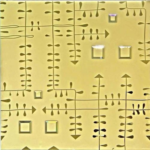 Designer Modular Glass BG8065 Gold