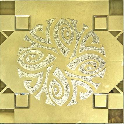 Designer Modular Glass BG8069 Gold