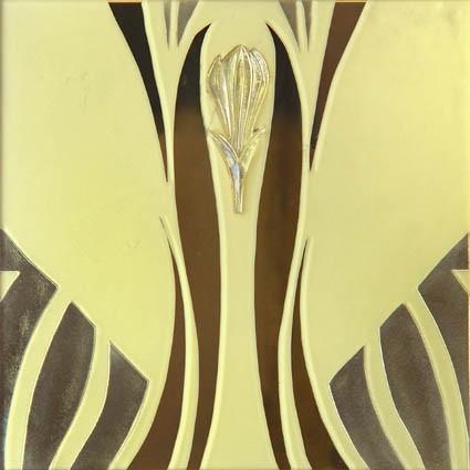 Designer Modular Glass 8072 Gold