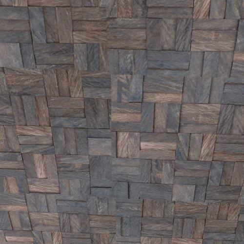 GTCA04- 3D wall tile wood mosaic artistic modern tile