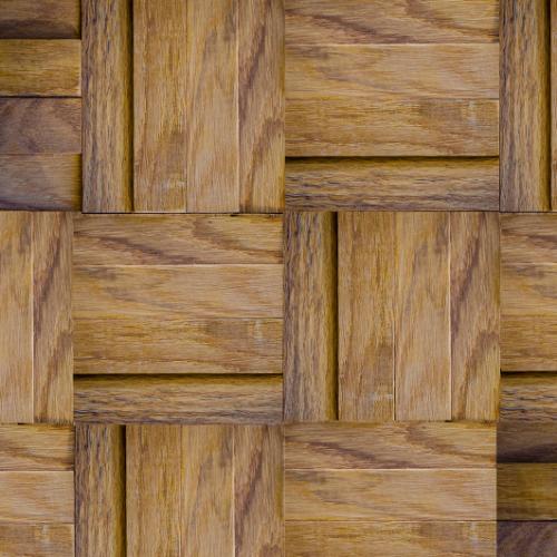 GTOA05 -Rustic_ oak_ 3d_ wood_ mosaic_ artistic_ by_ globaltrendsus.com-