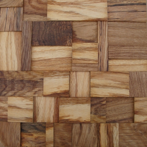 GTOA06-artistic tile wood mosaic 3D unique tile manuafactured by globaltrendsbuildingsupply