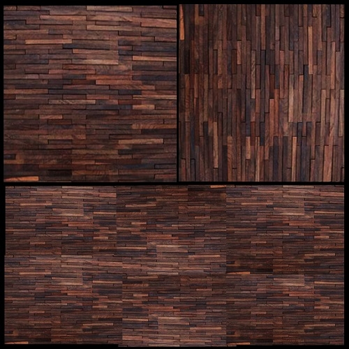 WA01- 3D- wall -wood- artistic -unue- mosaic- tile