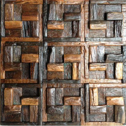 HME-4041 Teak Wood Tile